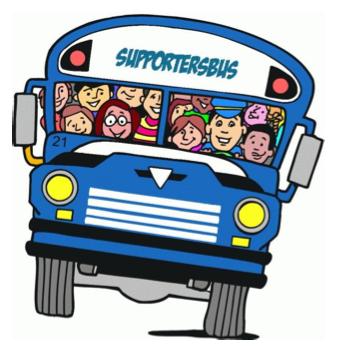 Busreis naar wedstrijd Scharn - Haelen 14 april