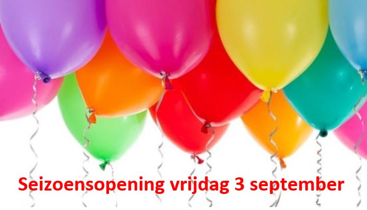 Uitnodiging seizoensopening 3 september